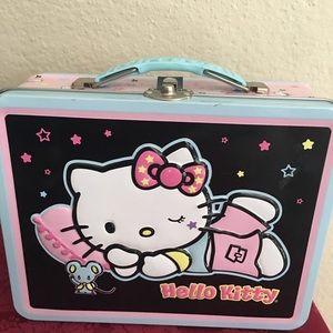 Hello Kitty Vintage Metal Lunchbox 1976